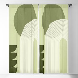 Abstract Geometric Shapes 61 Blackout Curtain