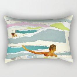 Sun and Surf Rectangular Pillow