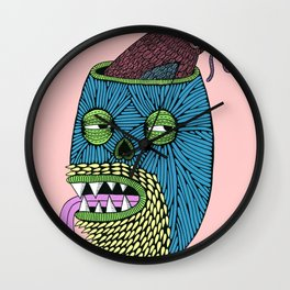 Bird Brain Bill the Zombie Wall Clock