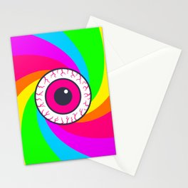 Neon Gaze Stationery Cards
