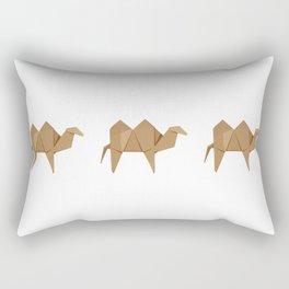 Origami Camel Rectangular Pillow