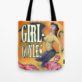 """Girl-Goyles"" Movie Poster Tote Bag"