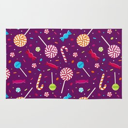 Delightful Candy Pattern Rug