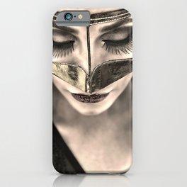 Neqab Portrait iPhone Case