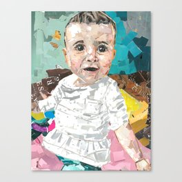 Baby Lelah Bell Walther Canvas Print
