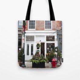 Petit Jardin en Ville Tote Bag