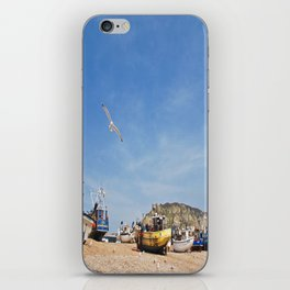 Working Beach iPhone Skin