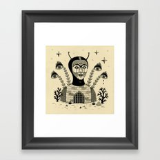 Preternatural Prison Framed Art Print