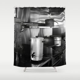 SS Valley Camp Galley Shower Curtain