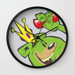 illsurge : King of The Bombing Bears Wall Clock