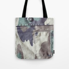 Everything Goes With Camoflage Tote Bag