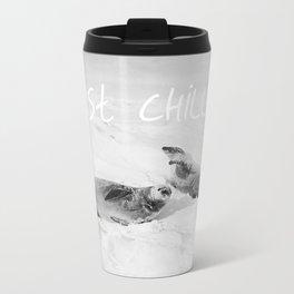 Just Chillen  Travel Mug