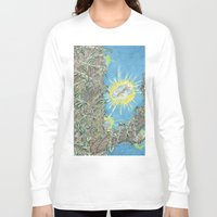 fairies Long Sleeve T-shirts featuring Fairies by David Domike