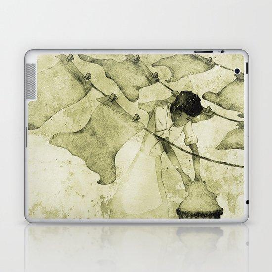Salt of the earth Laptop & iPad Skin