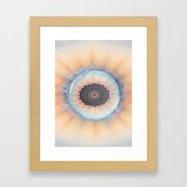 Deep cool waters Framed Art Print