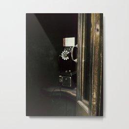 Mr. Kent's Dressing Room Metal Print