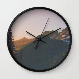 Glacier Wandering Wall Clock