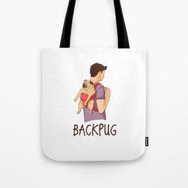 BackPug Tote Bag