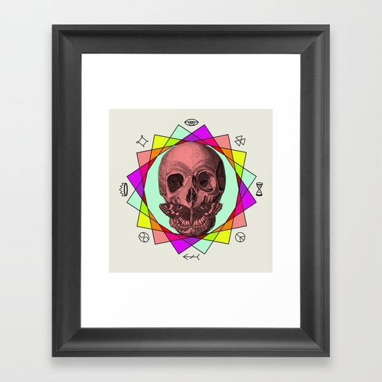 TRUE SIGN Framed Art Print