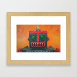 Robert the Robot Framed Art Print