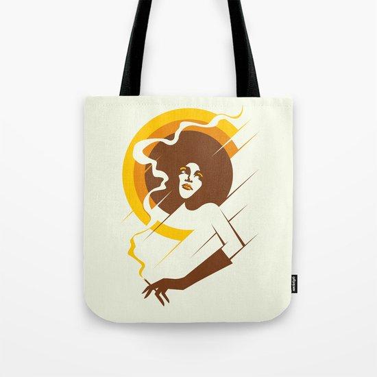 Retropolitan (warm) Tote Bag
