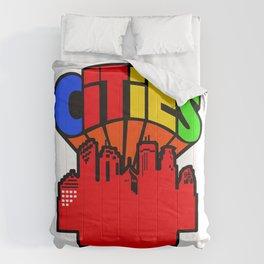 #heArtoftheCities Comforters