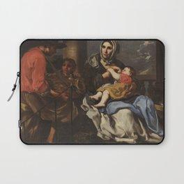 Bernhard Keil - Nursing Peasant (17th Century) Laptop Sleeve