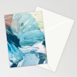 frothy (artist palette) Stationery Cards