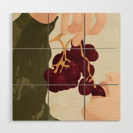 Hold me in the Present Wood Wall Art