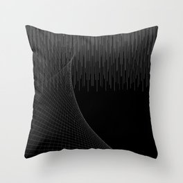 Matrix Void Throw Pillow