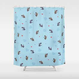 Extract Desire Shower Curtain