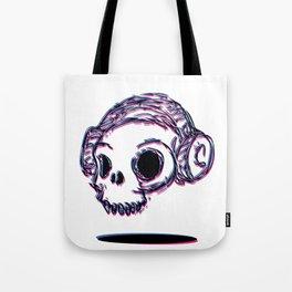 3D Skull Tote Bag