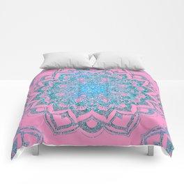 Ocean Mandala Comforters