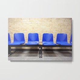 The waiting room Metal Print