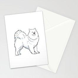 Samoyed Dog Owner Gift Idea Stationery Cards