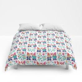 Gnome Love Pattern Comforters