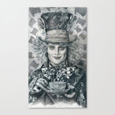 Mad Hatter - Johnny Depp Traditional Portrait Print Canvas Print