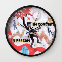 Rock & Roll! Wall Clock