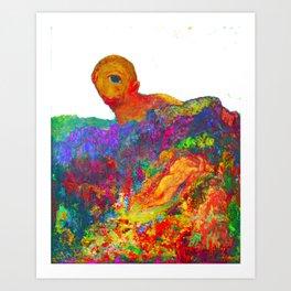 Cyclopes Redon Odelon Art Print