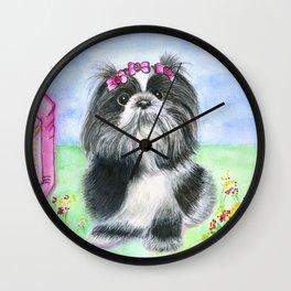 Florzinha Wall Clock