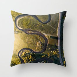Mother Earth's creation Throw Pillow