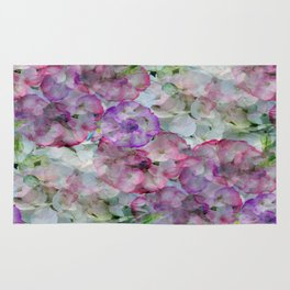 Mesmerizing Floral Abstract Rug