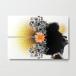 Nwanyi Siri Ike Metal Print