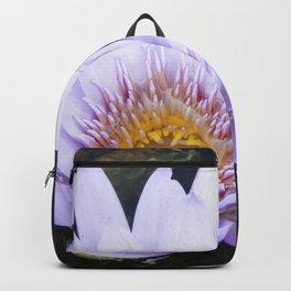 Blue Lotus Flower Backpack