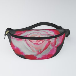 Red and White Rose POP Fanny Pack
