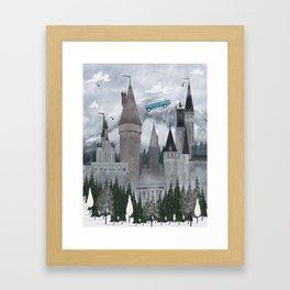 the magic castle Framed Art Print