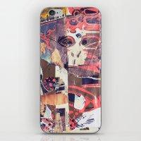 monkey iPhone & iPod Skins featuring monkey by echo3005