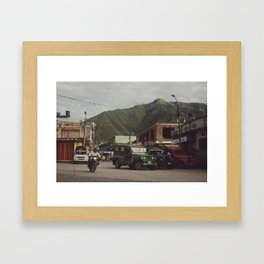 La Plata Framed Art Print