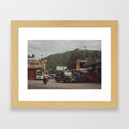 La Plata Framed Art Print