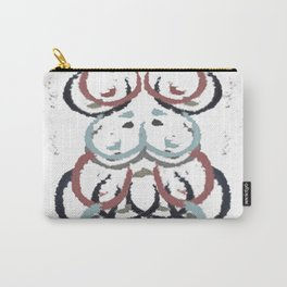 Primary Symmetry Carry-All Pouch